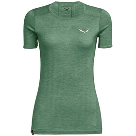 SALEWA Puez Graphic 2 Dry Camiseta Manga Corta Mujer, verde
